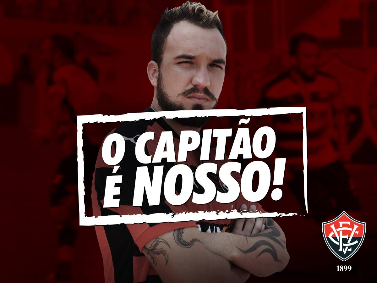 30994362f885b CAPITÃO RUBRO-NEGRO   Esporte Clube Vitória - Site Oficial.