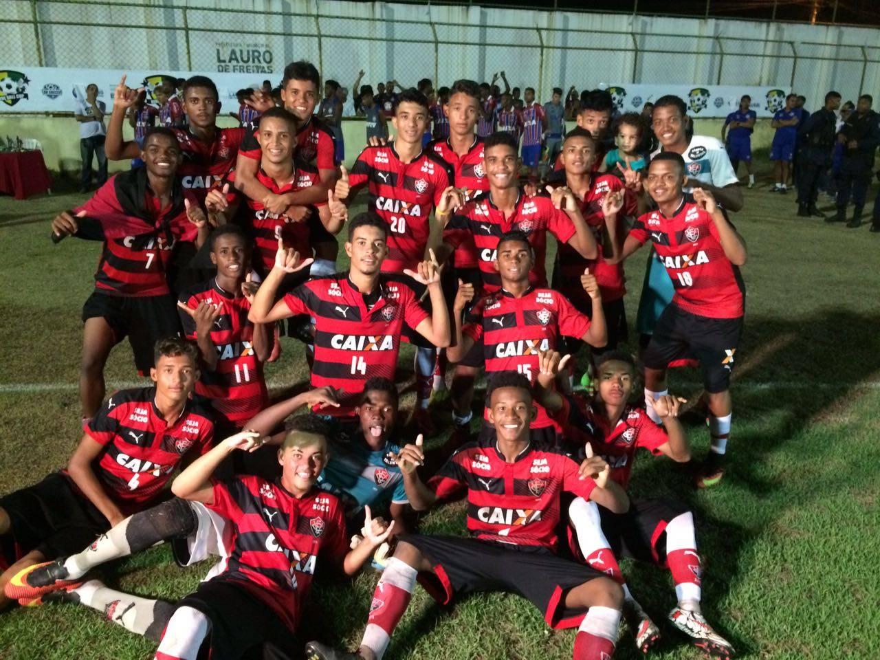 VITÓRIA VENCE BAxVI E É CAMPEÃO SUB-17   Esporte Clube Vitória - Site  Oficial.
