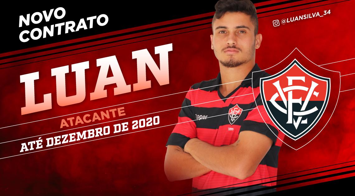 LUAN ATÉ 2020   Esporte Clube Vitória - Site Oficial 2b6d14e0b32a1